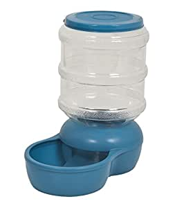 Pet supplies petmate 24569 gravity feeder blue pet for Automatic fish feeder walmart