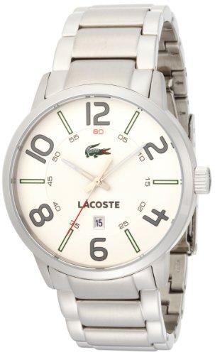 Lacoste Date Display Silver Bracelet Mens Watch #2010494