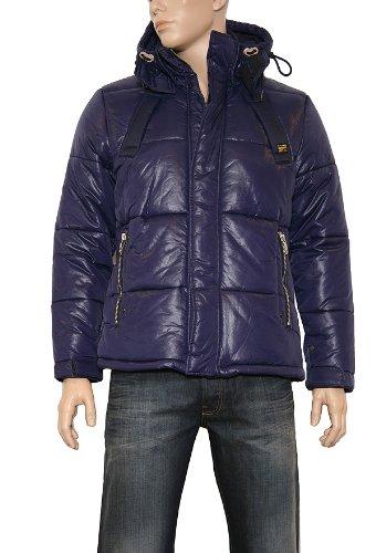 Men's G-Star Raw Belton Parka Coat in Shade
