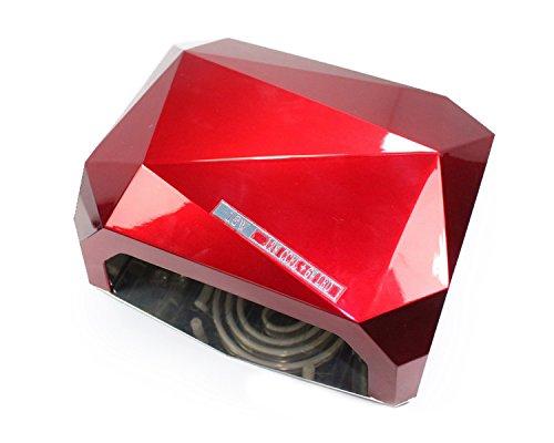 Znu Nail Art Led Uv Gel Cure Curing Lamp Dryer Timer Gelish Polish Tool 110 220V Pink