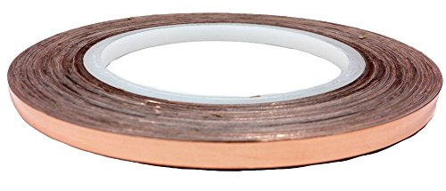 Copper Conductive Adhesive Tape, 1/4