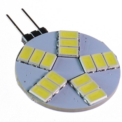 Heinside Energy Saving G4 15 Smd 51530 Led 480Lm 5W Corn Light Lamp Bulb Transparent Cover Cool White