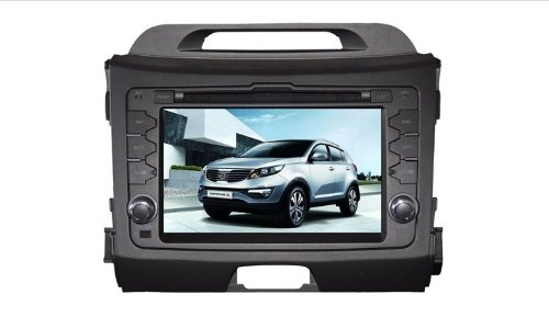 WideRoad GPS Navigation DVD In-dash Car DVD Player