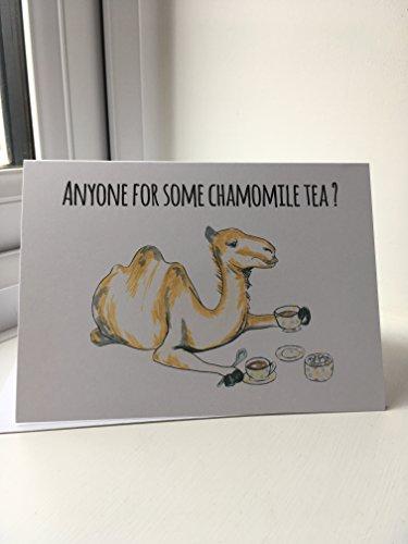 anyone-for-some-chamomile-tea-camel-a6-original-card