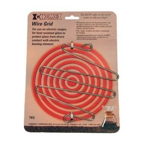 Chemex Stainless Protect Wire Grid for Use on Electric Stove, 6.5 Inch