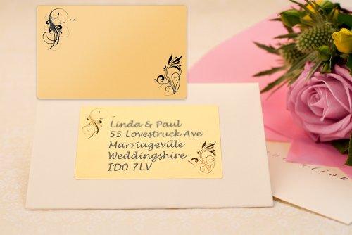 Return Labels For Wedding Invitations: Amazon.com : Festive Labels 40x Patterned Wedding