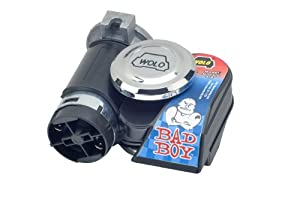 Wolo Model  419 Bad Boy Air Horn Kit - 12 Volt