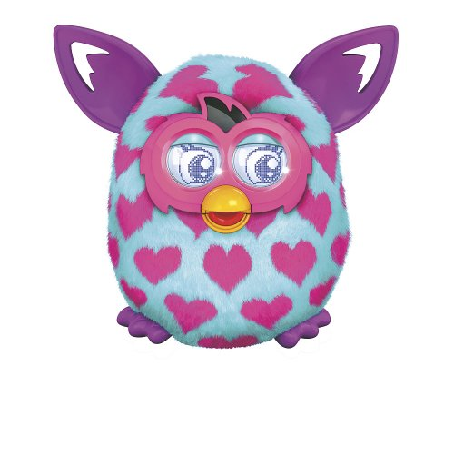 Furby Boom Plush Toy - Pink Hearts