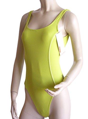Solar sportlicher Badeanzug In&Out 701555-53 grün, Gr. 38 B-Cup