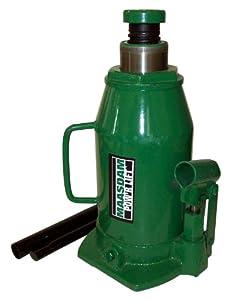 Maasdam MPL20B Bottle Jack, 20 Ton, Green