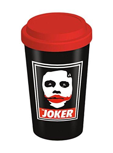 """The Dark Knight """"obbedire al Joker in"""" ceramica tazza di viaggio, multicolore"""