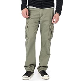 Survivor IV Cargo Pants-Leaf