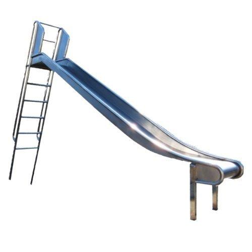 Edelstahl-Rutsche mit Leiter, Podestöhe 1.75-2m – öffentlich online kaufen