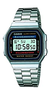 Casio Collection Watch Resin Case A168WA-1WYEF
