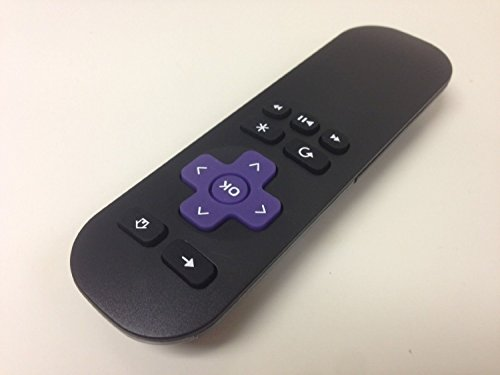 New High Quality Replacement Lost Remote 1 Year Warranty Compatible with Roku Models Roku 1 (Lt, Hd); Roku 2 (Xd, Xs) ; Roku 3 (Does NOT Work for Roku Streaming Stick, Hdmi Stick and Game)