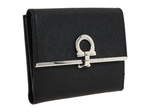 Ferragamo Icona French Wallet - Black