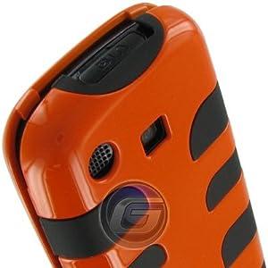 Protector Case with Silicone Interior Fishbone Orange For Samsung Impression A877