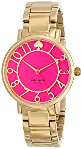Kate Spade New York Women's Gramercy - 1YRU0389 Bougainvillea Pink Watch