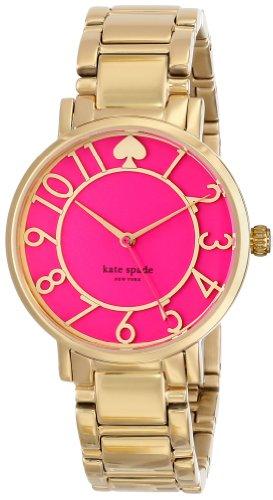 kate spade new york Women's 1YRU0389 Gramercy Analog Display Japanese Quartz Gold Watch
