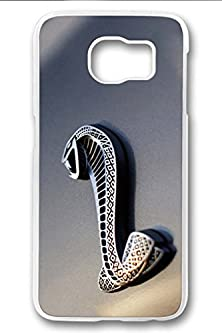 buy S6 Case,Hard Shell Plastic Pc [Clear] Crystal Cover Snugly Sleek Slim Lightweight Frosted Colorful Vibrant Fit Headphones Port Oil Water Proof Samsung Galaxy S6-Ford Mustang Shelby Gt500 3
