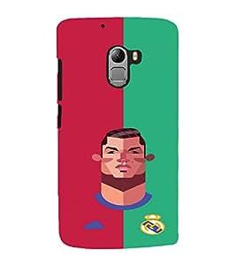 PRINTVISA Football Champion Madrid Case Cover for Lenovo K4 Note