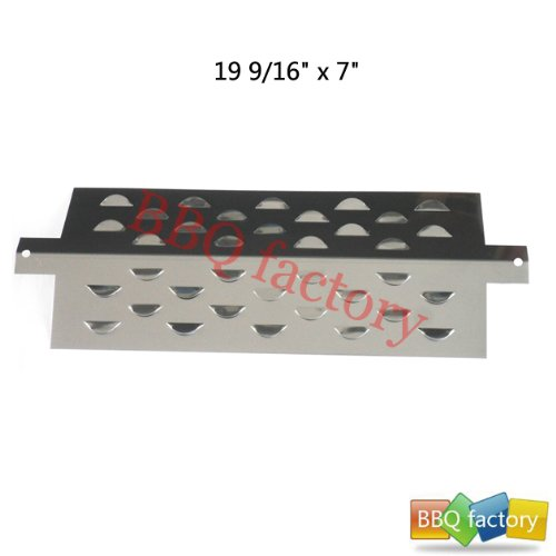 96411 Stainless Steel Heat Plate Replacement For Select Gas Grill Models Aussie 7710.8.641 And Aussie 7710S8.641