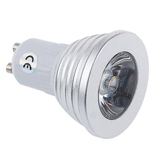 Dn Gu10 3W Rgb Led Spotlight Colorful Down Ceiling Light With 24 Ir Key Lampe