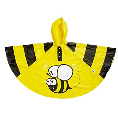 Bugzz Bee Rain Poncho (Fun raincoat for children)