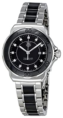 TAG Heuer Women's WAH1314.BA0867 Formula 1 Black Dial Stainless Steel Ceramic Watch by TAG Heuer
