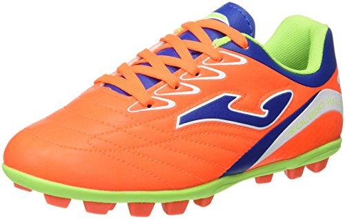 joma-boys-toledo-jr-608-naranja-fluor-22-tacos-football-boots-size-7-child-uk