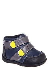 See Kai Run Baby Boys\' SKR Leander (Infant/Toddler) - Navy - 4 Infant