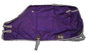 420 Denier Horse Stable Sheet Open Front Purple