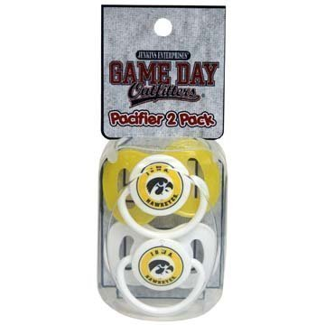 NCAA Iowa Hawkeyes Infant Pacifier