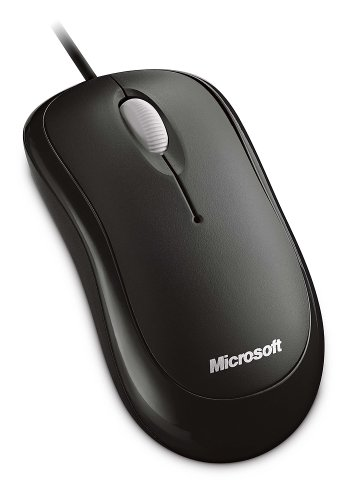 Microsoft Basic Optical Mouse, Black (P58-00061)
