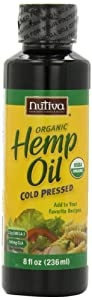 Nutiva Organic Hempseed Oil, 8-Ounce Unit (Pack of 3)