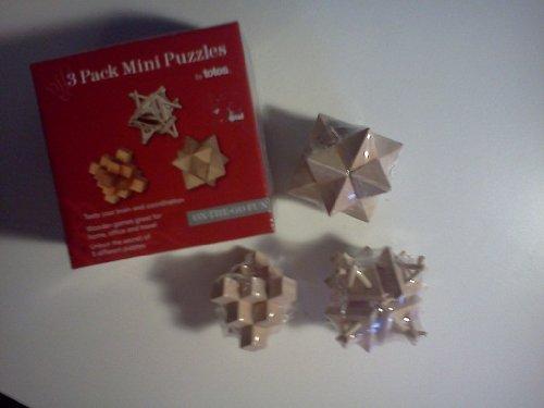 3 Pack Mini Puzzles