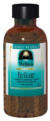 Source Naturals Wellness Flu Guard (525 Pellets), 1 Ounce