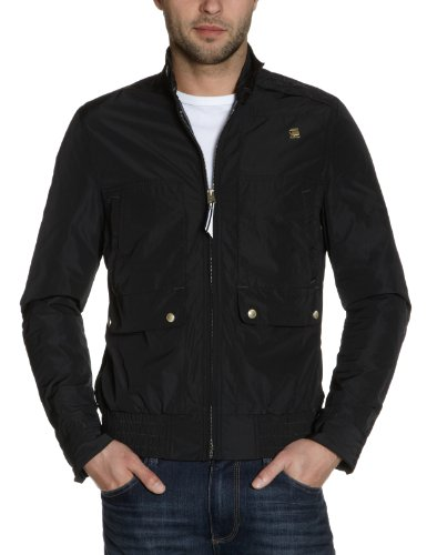 G-Star Men's Cl Rank Jkt - 82904 Jacket Black (Black 990) 54