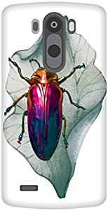 The Racoon Grip It Bugs Me hard plastic printed back case / cover for LG G3