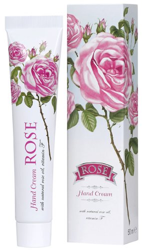 Hand Cream ROSE- With Natural Rose Water, 50ml (Rose Cream compare prices)