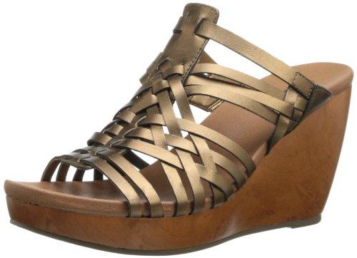 Dr. Scholl'S Women'S Magan Wedge Sandal,Bronze,7 M Us front-1060671