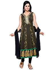 Roopali Creations Women's Chanderi Silk Salwar Suit Set - B013SVO0VC