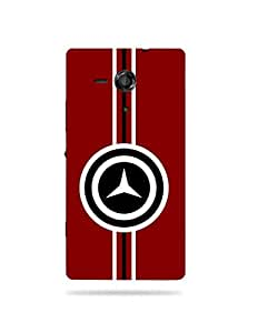 alDivo Premium Quality Printed Mobile Back Cover For Sony Xperia SP / Sony Xperia SP Back Case Cover (MKD112)