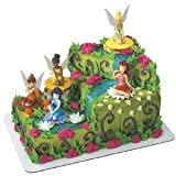 Disney Tinkerbell Fairy Friends Signature Cake Topper
