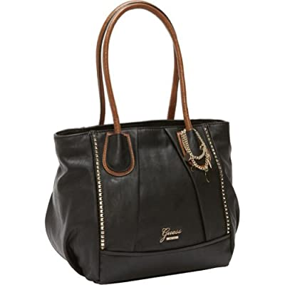 Cheapest GUESS Rosata Large Box Tote by Guess - Free Shipping Available