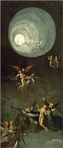 Leinwandbild 40 x 90 cm Aufstieg ins himmlische Paradies von Hieronymus Bosch / akgimages  fertiges Wandbild, Bild auf Keilrahmen, Fertigbild auf echter Leinwand, Leinwanddruck Hieronymus Bosch    Kritiken und weitere Informationen