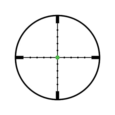 Trijicon TR22 AccuPoint 2.5-10x56 Riflescope MIL-Dot Crosshair with Green Dot, 30mm Tube from Trijicon
