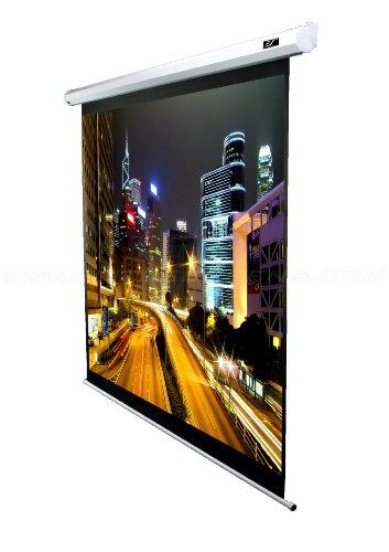 "Elite Screens Vmax150Xwv2-E24 Vmax2 Electric Projector Screen (150 Inch Diagonal 4:3 Ratio 90""Hx120""W)(24"" Drop)"