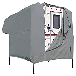 Classic Accessories 70023 Overdrive PolyPro I Camper Cover, Fits 8\' - 10\' Campers