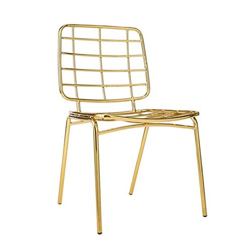 Mesh Chair, Gold